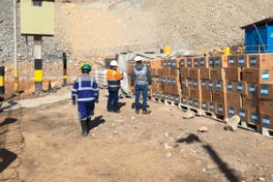 La Sucamec inmovilizó más de mil cajas de explosivos de uso civil en Pasco