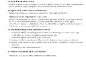 """Renovación de la """"Autorización inicial para la manipulación de productos pirotécnicos y materiales relacionados"""""""
