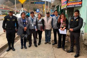 Jefatura Zonal de Junín lidera acciones contra la pirotécnica informal en el centro del país