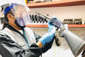 Huancayo: Sucamec incauta armas y más de 4 mil municiones a empresa de seguridad