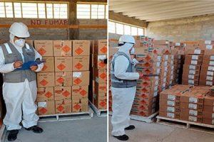 Tacna: Sucamec verifica 33 toneladas de explosivos para su ingreso al país
