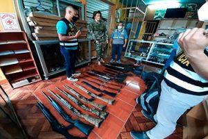 Tumbes: Sucamec participa de operativo binacional contra el tráfico de armas en la frontera